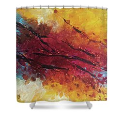Secret Garden 2 Shower Curtain by Alessandro Andreuccetti