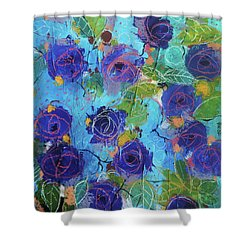 Secret Garden Shower Curtain by Alessandro Andreuccetti