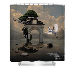 Secret Gate Shower Curtain