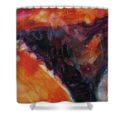 Shower Curtain featuring the painting Secret Hideaway by Kathy Braud