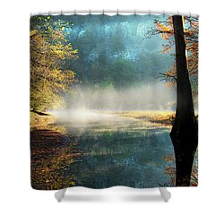 Secret Hideaway At Beavers Bend Shower Curtain