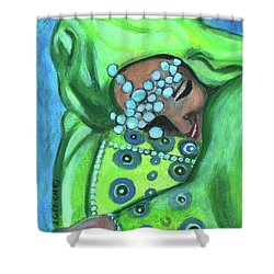 Secret Joy Shower Curtain