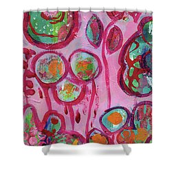 Secret Life Of Flowers Shower Curtain
