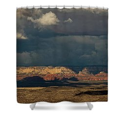 Secret Mountain Wilderness Storm Shower Curtain