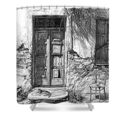 Secret Of The Closed Doors Shower Curtain