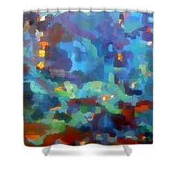 Secret Places Shower Curtain