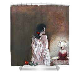 Secret Rose Shower Curtain