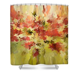 Secret Separation Shower Curtain by Mark Lawrence