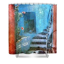 Secret Space Shower Curtain