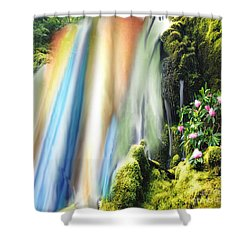 Secret Waterfall Of Life Shower Curtain