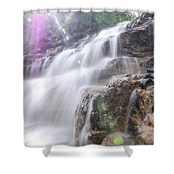 Secret Waters Flow Shower Curtain