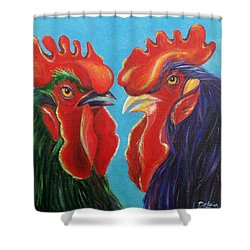 Secrets Shower Curtain by Susan DeLain