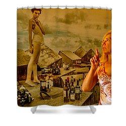 Secrets Shower Curtain by Yelena Tylkina