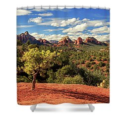Sedona Afternoon Shower Curtain by James Eddy