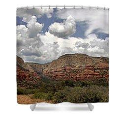 Shower Curtain featuring the photograph Sedona Az by Elaine Malott