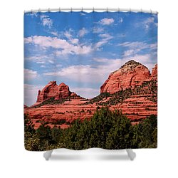 Sedona Az Shower Curtain by Tom Prendergast