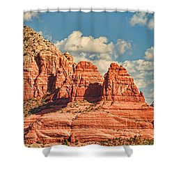 Sedona Formation Shower Curtain