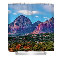 Sedona Hills Shower Curtain