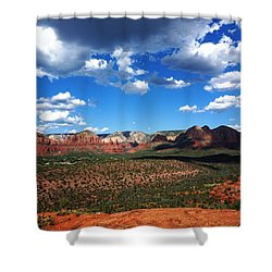 Sedona Shower Curtain by Julia Ivanovna Willhite
