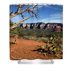 Sedona Overlook Shower Curtain