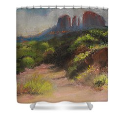 Sedona Pathway Shower Curtain