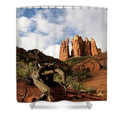Sedona Red Rocks No. 01 Shower Curtain