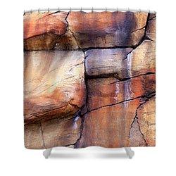 Sedona Red Rocks Profile I Shower Curtain