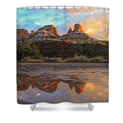 Sedona Reflections Shower Curtain
