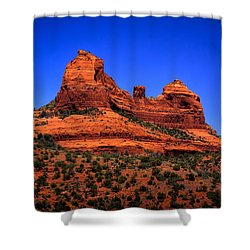 Sedona Rock Formations Shower Curtain