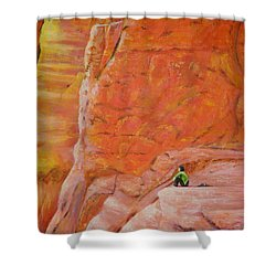 Sedona Rocks Shower Curtain