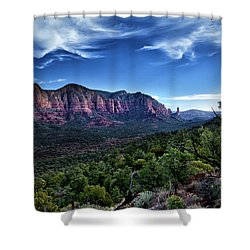 Sedona Skyline Shower Curtain