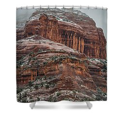 Sedona Snow Shower Curtain
