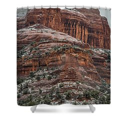 Sedona Snow Shower Curtain