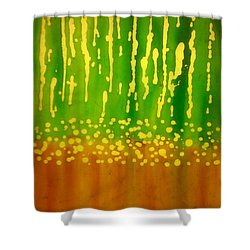 Seeds And Sprouts Shower Curtain