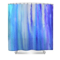 See Blue Sea Shower Curtain by Cyrionna The Cyerial Artist