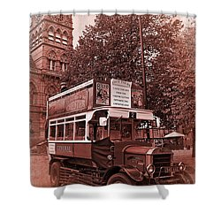 See Chester In Style Shower Curtain by Meirion Matthias