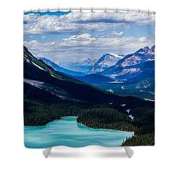 See Far Shower Curtain