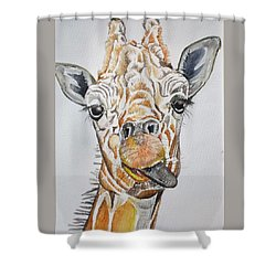 See My Tongue Shower Curtain