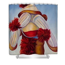 See No Bad Stuff Shower Curtain