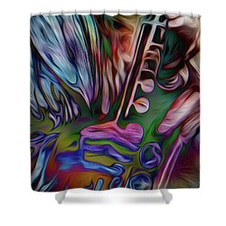 See The Music 3 Shower Curtain