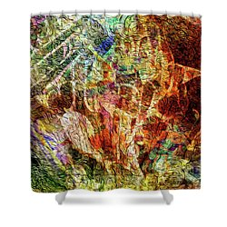 See The Music 4 Shower Curtain