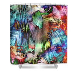 See The Music I Shower Curtain