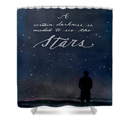See The Stars Shower Curtain