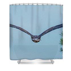 See Ya Later Shower Curtain by John Roberts