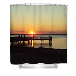 See You Tomorrow Shower Curtain