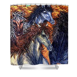 Seeds Of Independence Shower Curtain