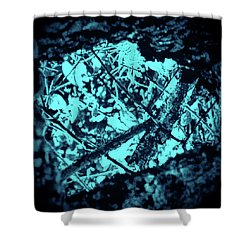 Seeing Through Trees Shower Curtain