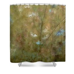 Seek Peace Shower Curtain