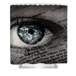 Seek The Truth Shower Curtain