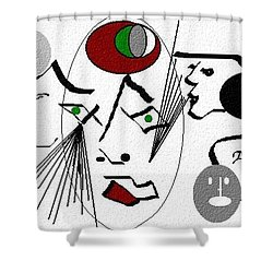 Seekers Phantom Shower Curtain